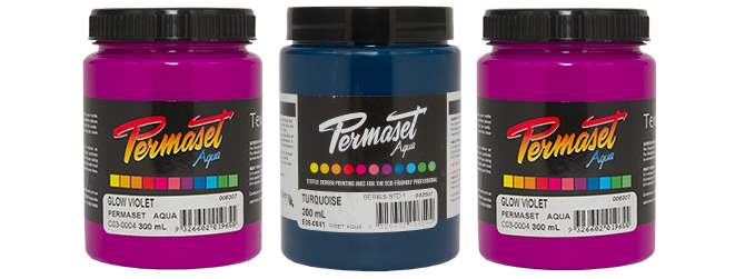 Permaset Fabric Paint in 300ml Jars